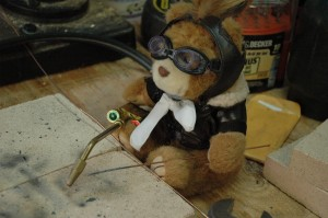 Mr. T and the Meco Midget Welding Torch