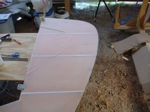 Rudder Rib Reinforcements