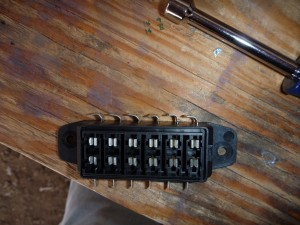 Covered Fuse Block Modification