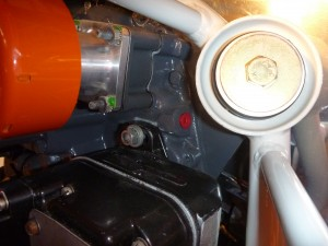 Lycoming Oil Pressure Port