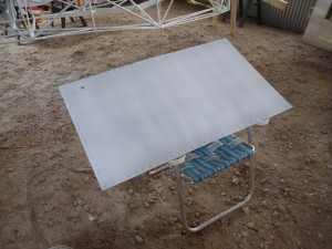 Fuel tank bay cover